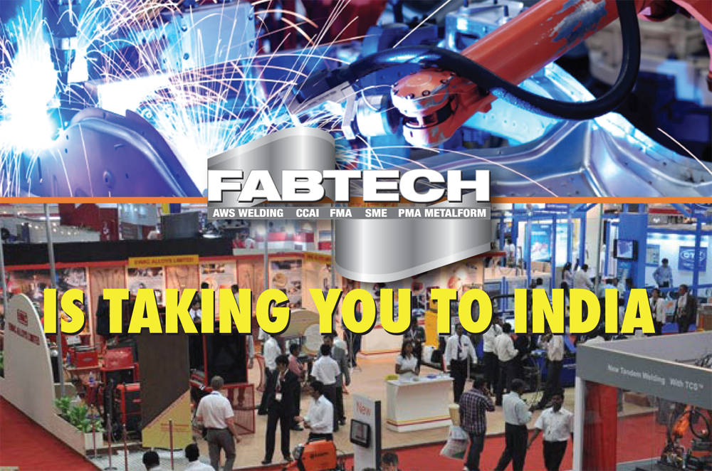 FABTECH is taking you to India